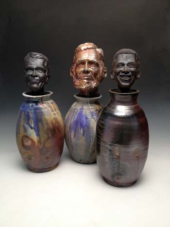 "Zach Tate and Justin Rothshank, ""Presidential Canopic Jars"", 2013"